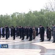 La Chine se fige pendant trois minutes en hommage aux morts du coronavirus
