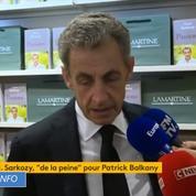 Nicolas Sarkozy a «de la peine» pour Patrick Balkany