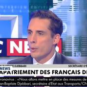 Coronavirus: «Un premier vol partira dès demain», annonce Jean-Baptiste Djebbari
