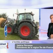 Agriculteurs: «Le gouvernement n'est pas au rendez-vous», affirme Valérie Pécresse