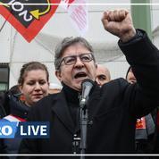 Retraites: «Un coup de force contre la démocratie», dénonce Mélenchon
