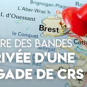 Brest : une brigade de CRS pour mettre fin à la guerre des bandes