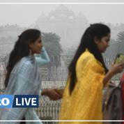 Inde: New Delhi continue d'étouffer sous un nuage de particules fines