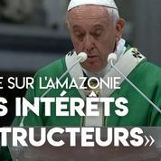 Amazonie : après les incendies, le pape François dénonce «les intérêts destructeurs»