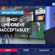 SNCF: une grève inacceptable?