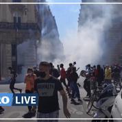 Heurts entre police et manifestants lors d'une «marche des solidarités»