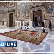Des tapisseries de Raphaël font leur retour dans la chapelle Sixtine
