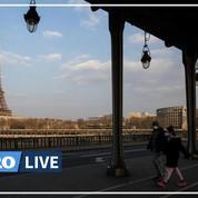 Coronavirus: en plein confinement, images aériennes des rues de Paris désertes