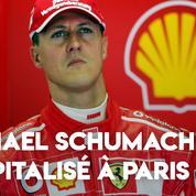 Michael Schumacher est hospitalisé à Paris