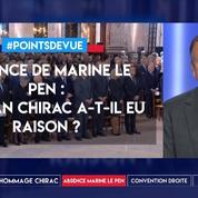 Absence de M.Le Pen : le clan Chirac a-t-il eu raison ?