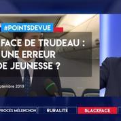 Blackface de Trudeau : une erreur de jeunesse ?