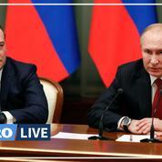 Russie: le gouvernement de Dmitri Medvedev présente sa démission à Poutine