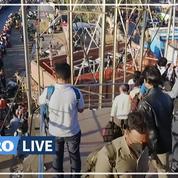 Coronavirus: des travailleurs migrants fuient New Delhi