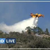 Tempête Hervé: l'incendie «n'est pas maîtrisé», alerte Castaner