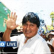 Le président de la Bolivie Evo Morales démissionne