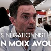 Yann Moix reconnaît avoir publié des textes négationnistes