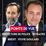 Points de vue du 3 octobre : préfecture de police, retraites, Brexit, Sylvie Goulard