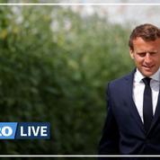 Covid-19: «Merci à la ferme France», déclare Emmanuel Macron