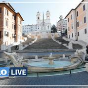 Coronavirus: à Rome, le calme règne dans les rues de la capitale confinée