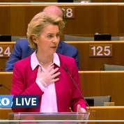 Ursula Von der Leyen dénonce le chacun pour soi des États face au Covid-19