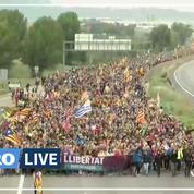 Catalogne : les «marches de la liberté» affluent vers Barcelone