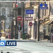 Au premier jour de confinement, les rues quasi-désertes de Paris