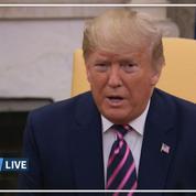 Destitution : «C'est une chasse aux sorcières», s'exaspère Trump
