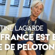 Christine Lagarde : «La France est en tête de peloton» de la croissance européenne