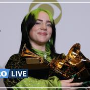Grammy Awards: la razzia de Billie Eilish