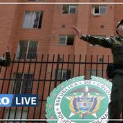 En Colombie, la police nationale fait de la Zumba dans la rue pour divertir les confinés