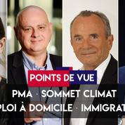 Points de vue du 23 septembre : PMA, sommet climat, emploi à domicile, immigration