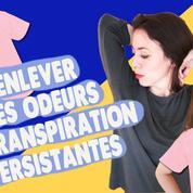Comment enlever les odeurs de transpiration sur les vêtements