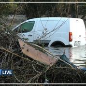 Tempête Fabien: la Corse touchée par des crues inédites