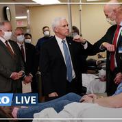 États-Unis: Mike Pence vivement critiqué pour sa visite sans masque dans un hôpital