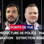 Points de vue du 7 octobre 2019 : Attaque préfecture ; PMA ; Immigration ; Extinction Rebellion