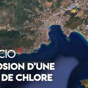 Ajaccio : explosion d'une cuve de chlore, huit personnes intoxiquées