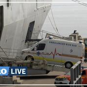 Coronavirus: 12 patients évacués de Corse par navire militaire