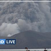 Éruption du volcan Taal aux Philippines: des villes recouvertes de cendres