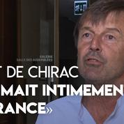 L'hommage de Nicolas Hulot à Jacques Chirac : «Il aimait intimement la France»