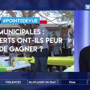Municipales: les Verts ont-ils peur de gagner?