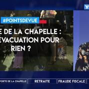 Porte de la Chapelle : une évacuation pour rien ?