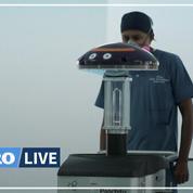 En Équateur, des robots désinfectent les blocs opératoires à l'aide d'UV