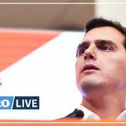 Le dirigeant du parti libéral Ciudadanos démissionne
