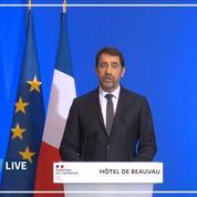 «Le mot d'ordre est clair: restez chez vous», précise Castaner après les annonces d'Emmanuel Macron