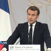 Emmanuel Macron: «Une violence de rue s'est installée dans notre pays»