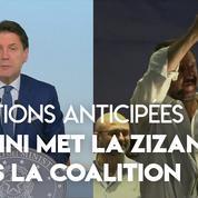 Italie : Salvini réclame des élections anticipées, le premier ministre lui demande de «s'expliquer»