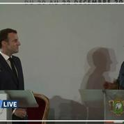 Les présidents français et ivoirien annoncent la fin du Franc CFA