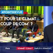 Sommet pour le climat : un coup de com' ?