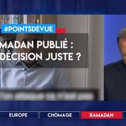 Ramadan publié : une décision juste ?