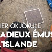 L'Islande dit adieu à son glacier fondu Okjökull